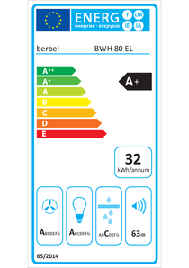 Energy-label berbel BWH 80 EL