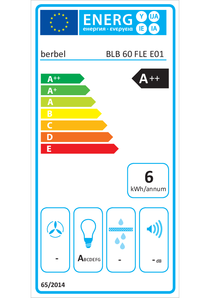 Energy-label berbel BLB 60 FLE