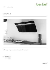 Operating Instructions Headroom hood Glassline 2
