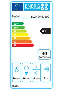 Energy-label berbel BWH 70 BL