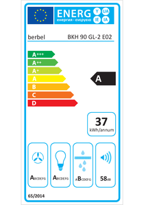 Energy-label berbel BKH 90 GL-2