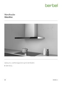 Gebrauchs- und Montageanleitung Wall-mounted hood Glassline BWH 90 GL