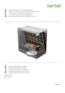 Operating Instructions Recirculated air filter permalyt® BUR 150