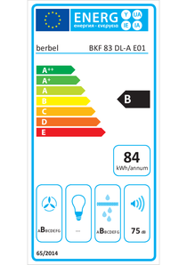 Energy-label berbel BKF 83 DL