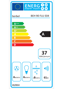 Energy-label berbel BEH 90 FLU