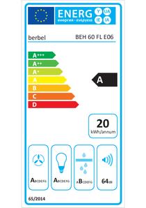 Energy-label berbel Firstline BEH 60 FL