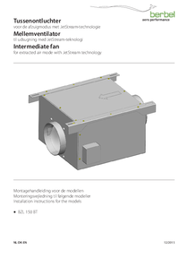 Operating Instructions Intermediate fan for extracted air mode with JetStream technology