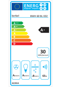 Energy-label berbel BWH 60 BL