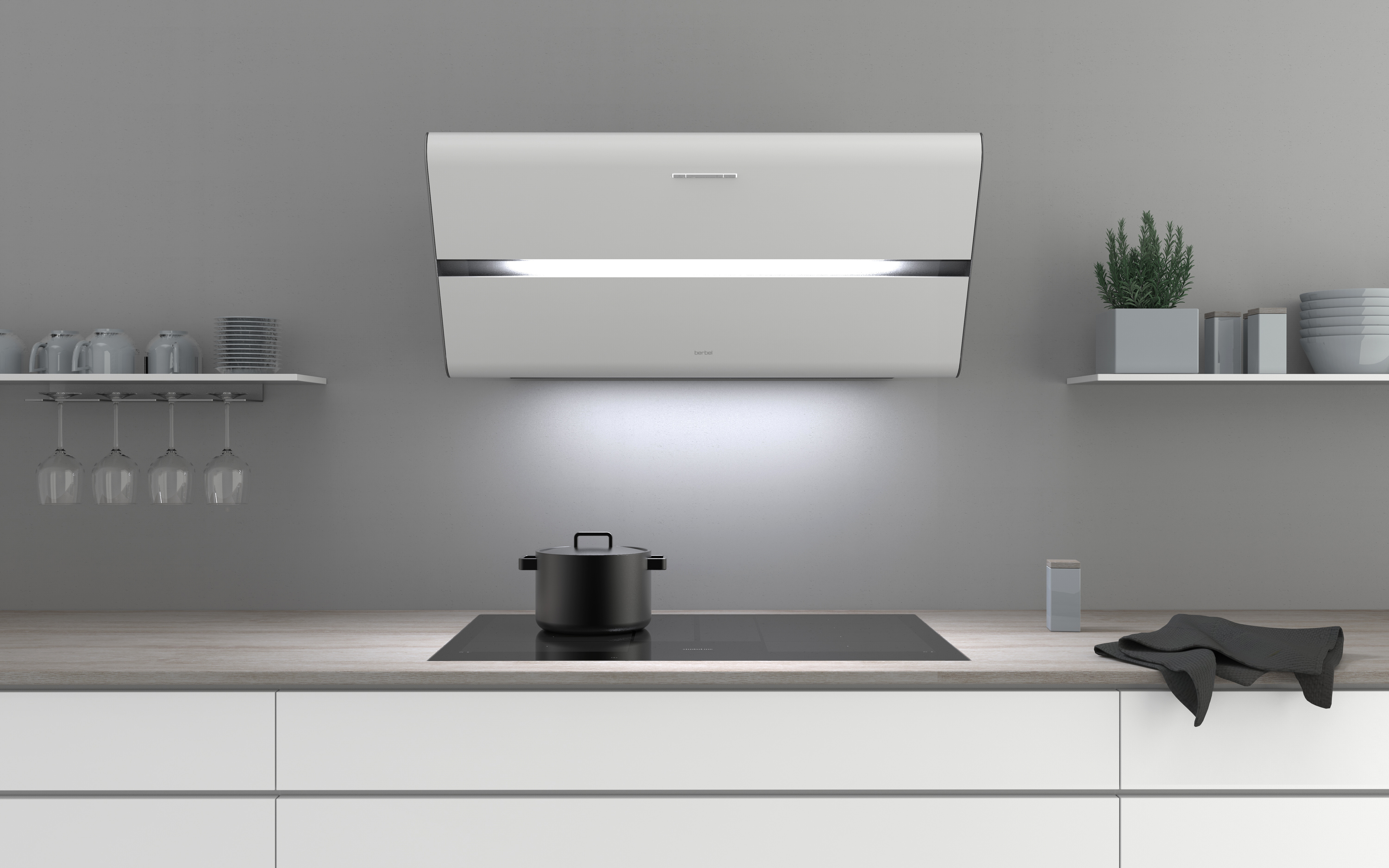 Award-winning design in new colours – Smartline headroom hood