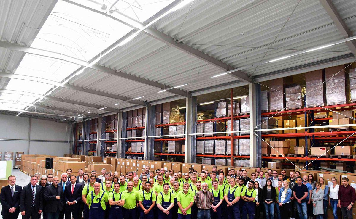berbel celebrates the opening of a new logistics facility