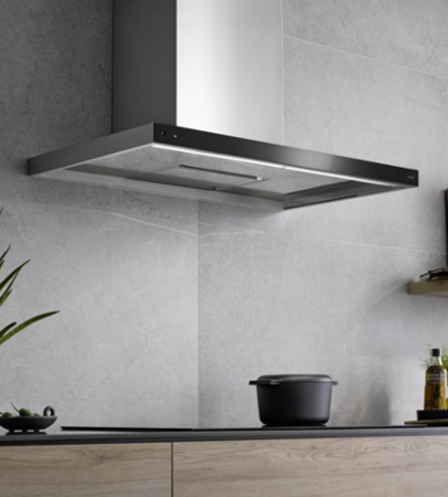 Wall-mounted hood Glassline