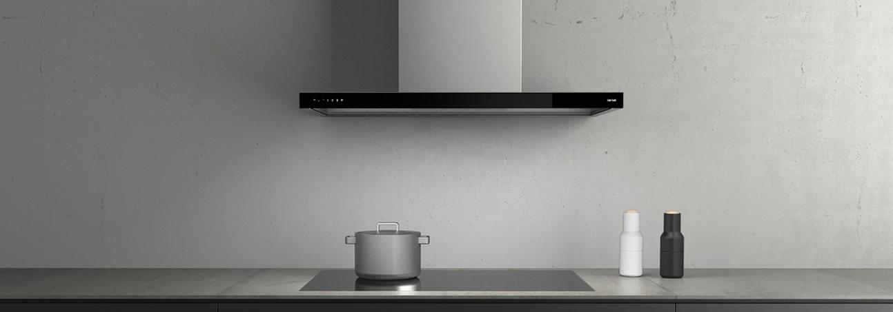 Wall-mounted hood Glassline