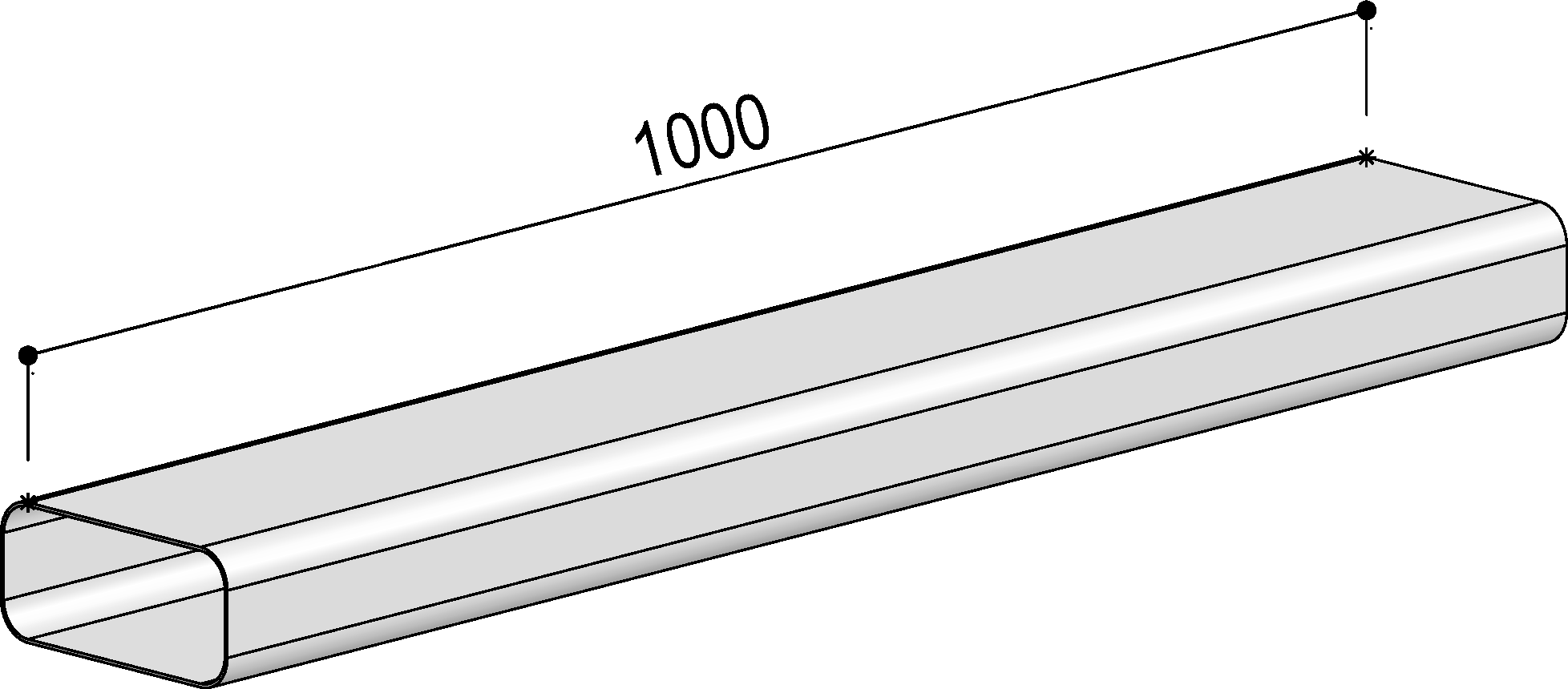 System 125 - <strong>flat duct</strong>
