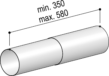 System 125 - <strong>telescopic round pipe</strong>