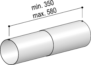 System 150 - <strong>telescopic round pipe</strong>